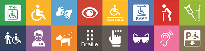 Offer people with disabilities access to information and get more users to the library