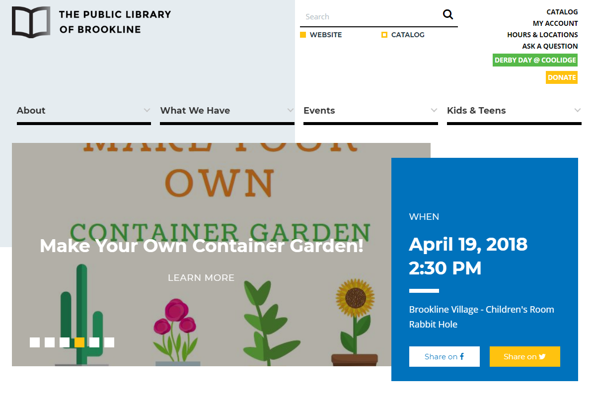 Website Promotional Channels For Libraries