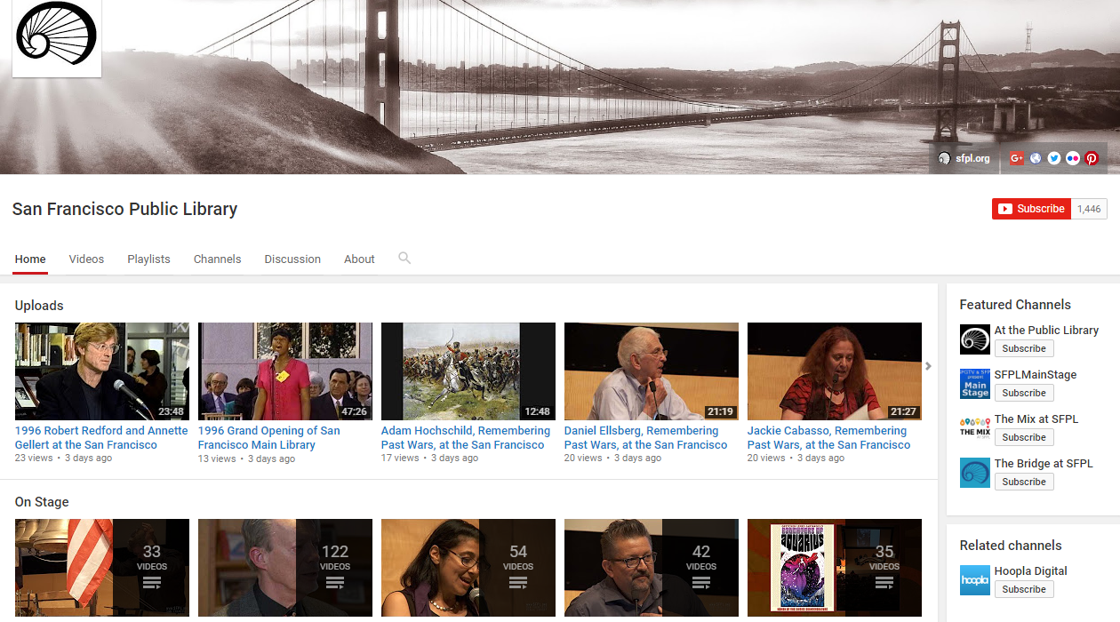 Use youtube videos to marketing your library