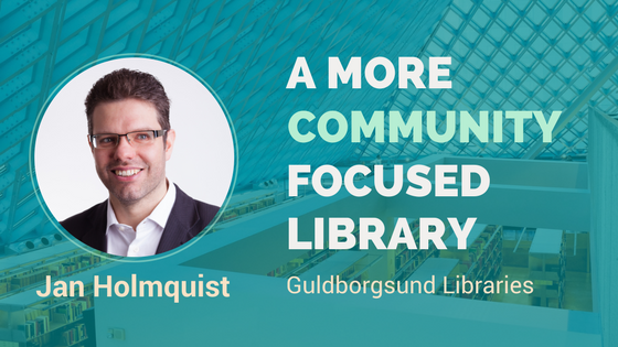 Should a public library be more community focused – Interview with Jan Holmquist