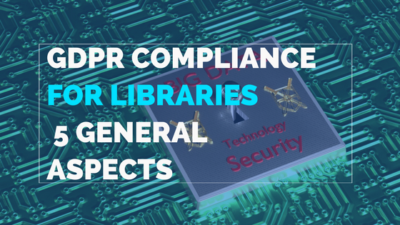 GDPR compliance for libraries