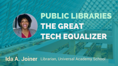 public libraries technology