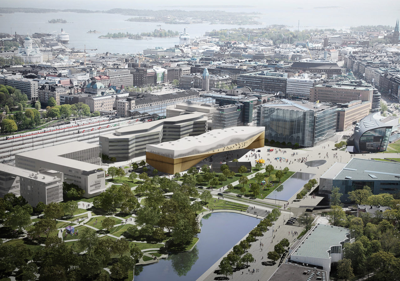 Oodi Helsinki Central Library of the future