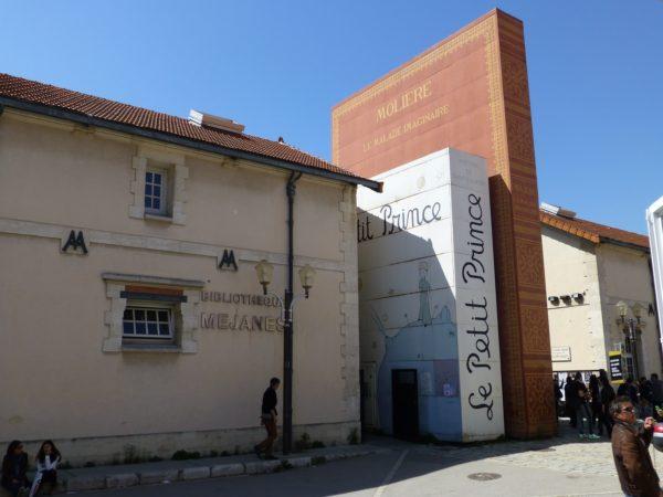 Bibliothèque Méjanes, Aix-en-Provence. Four stars: Very good.