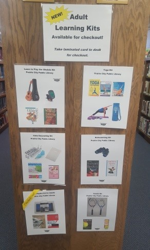 Library Of Things Prairie City Library