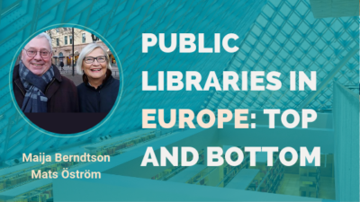 Public Libraries In Europe Top And Bottom