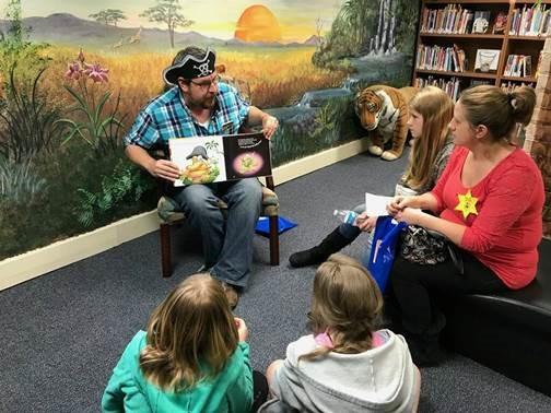 Roberta Peacock Library Story