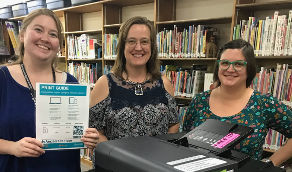 Lapeer District Library Printing Solution