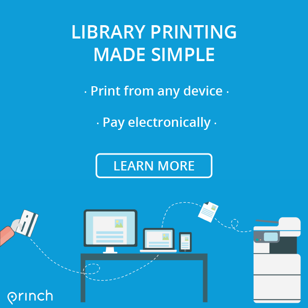 Library Printing made simple banner