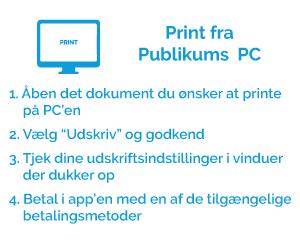 Print fra publikums PC