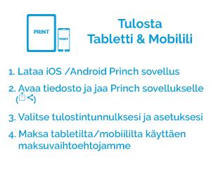 Tulosta tabletti & mobilili