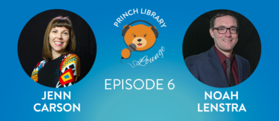 Princh Library Lounge Ep.6 - Libraries & Fitness with Jenn Carson and Noah Lenstra
