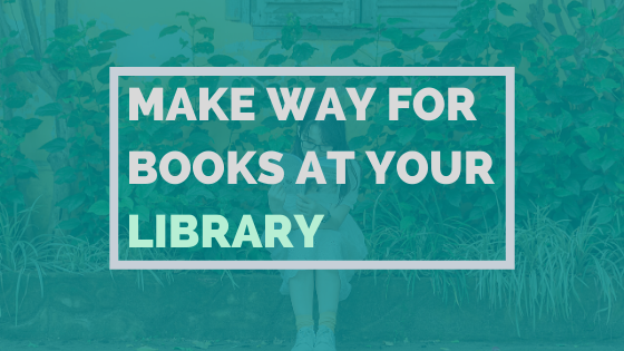 Make Way For Books At Your Library