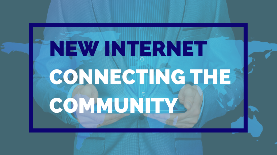 New Internet Connecting The Community