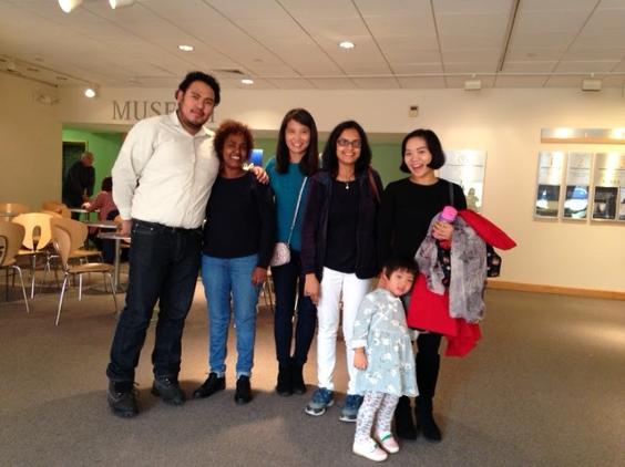 Citizenship class' museum trip