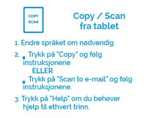 Cpoy & scan fra tablet