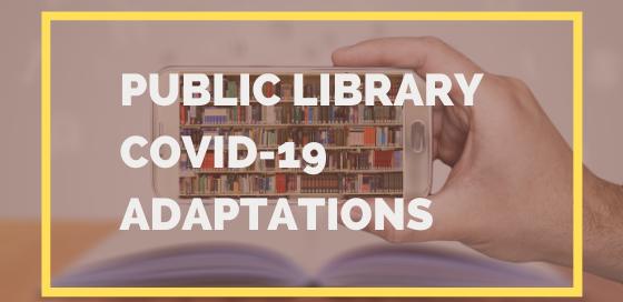 Princh Library Blog - Public Library COVID-19 Adaptations