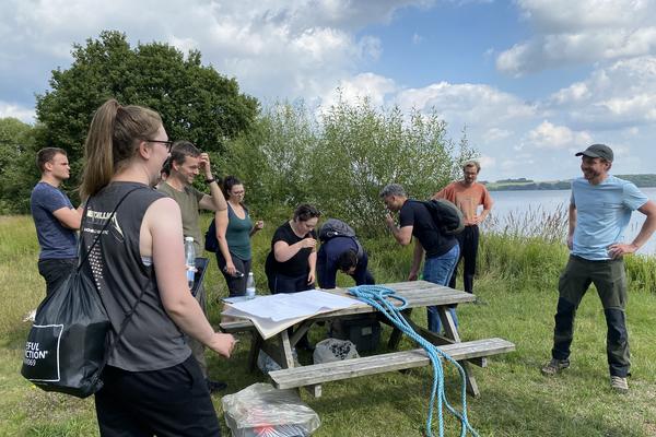 Lake-side meeting